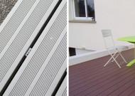 Terrasse en bois composite Rennes 35